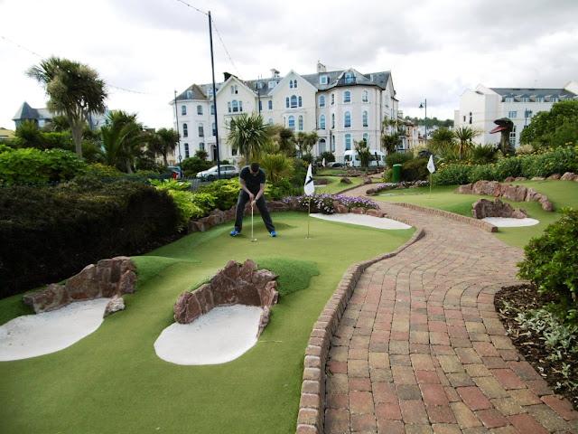 Adventure Mini Golf in Teignmouth, Devon