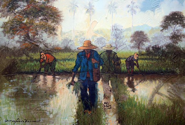 Rice Fields of San Francisco de Macoris, by Porfirio Ferrer