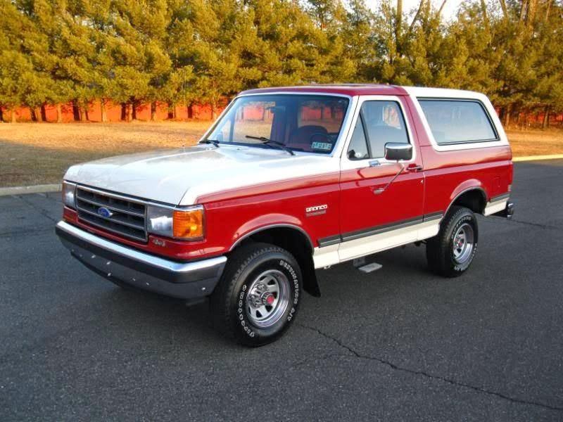 1989 ford bronco xlt for sale 4x4 cars. Black Bedroom Furniture Sets. Home Design Ideas