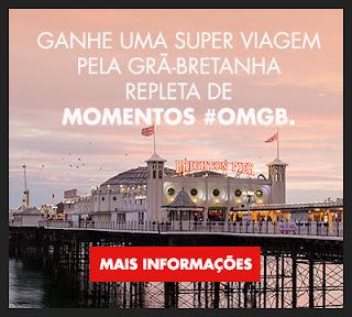 Promoção #OMGB - Ganhe uma viagem 2016