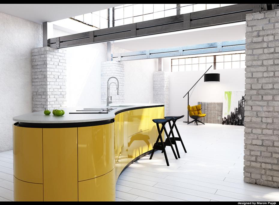 yellow-kitchen-units