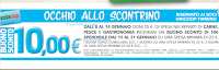 Logo Occhio allo scontrino Coop: in arrivo buoni sconto da 10€