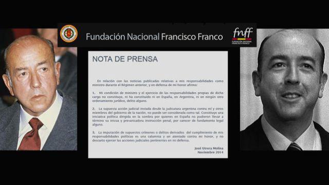 El exministro franquista Utrera Molina advierte en ABC del riesgo de una nueva guerra civil