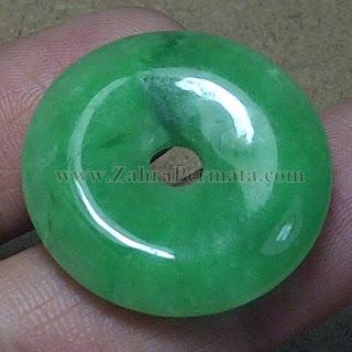 Batu Giok Jadeite Jade + Memo - ZP 787