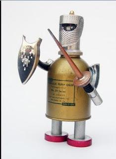 Robot con armadura