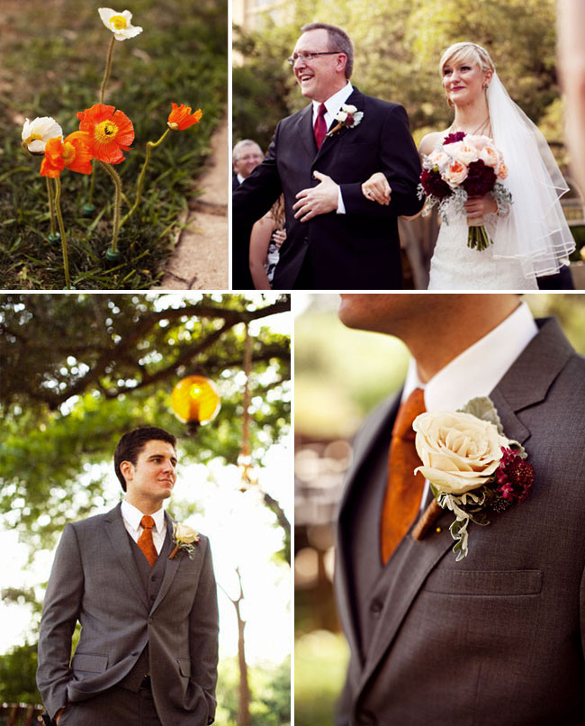 For An Autumnal Wedding You Could Consider Using Rich Earthy Tones With Warm Shades Of Orange Or Burnt Which Look Fabulous Cream And Gold