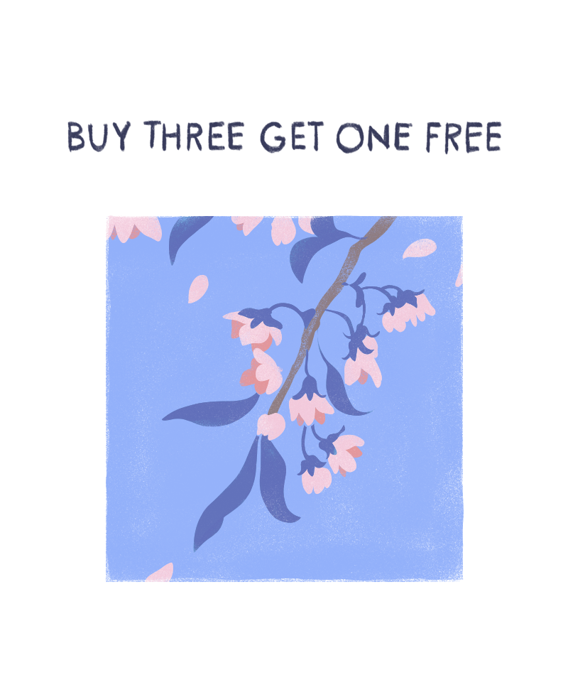 buy three get one free title
