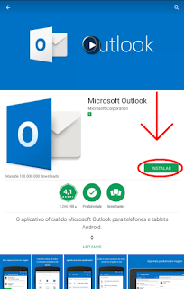Como entrar no Outlook
