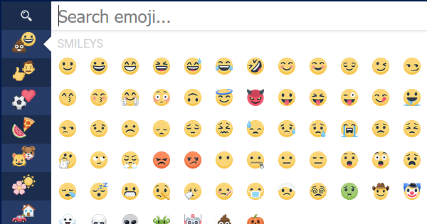 List Of Emoticons For Facebook Symbols Emoticons