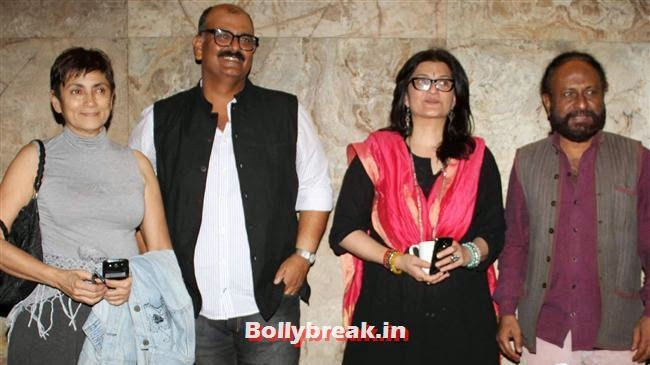 Deepa Mehta, Sanjay Tripahi, Sarika and Ketan Mehta, Celebs as Special Screening of Club 60