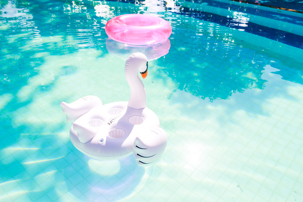 como decorar festa na piscina blog do math summer floats