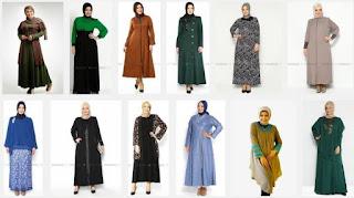 Gambar Aneka Baju Muslim untuk Wanita Badan Gemuk Tips trendbajumuslimah.blogspot.co.id