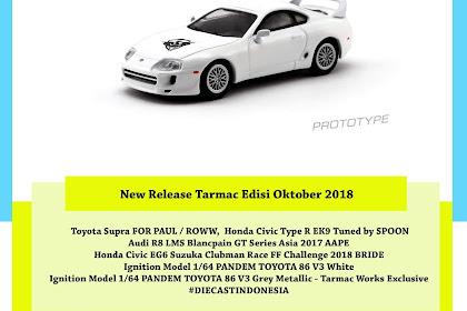 New Release Tarmac Edisi Oktober 2018