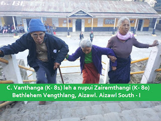 Mizoram's Oldest Voter