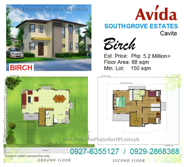 Avida South Grove Cavite Birch House