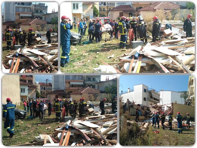 Γιάννενα: Από φιάλη υγραερίου η έκρηξη που ισοπέδωσε σπίτι και τραυμάτισε σοβαρά 66χρονο