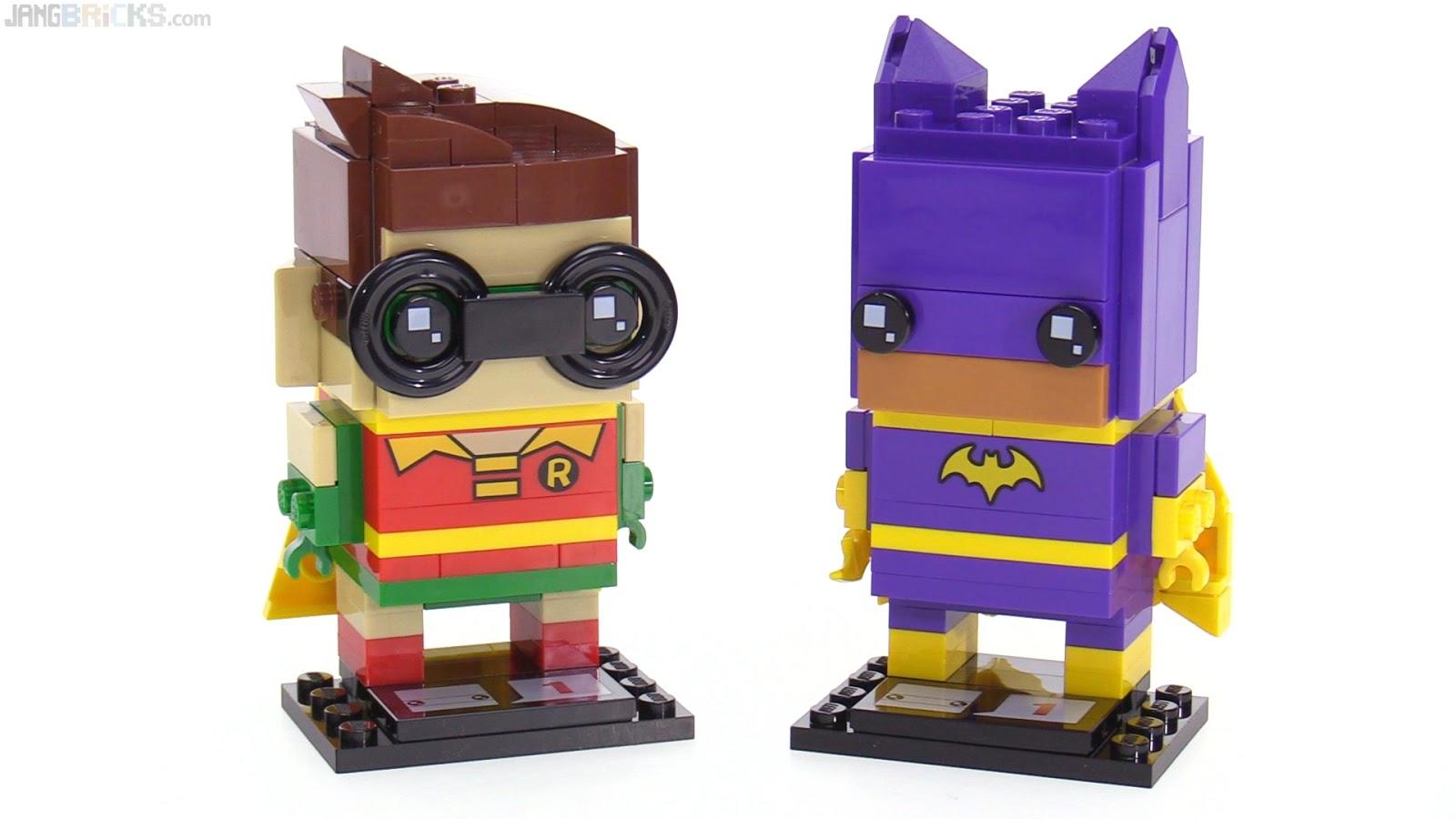 Four more LEGO BrickHeadz figures reviewed