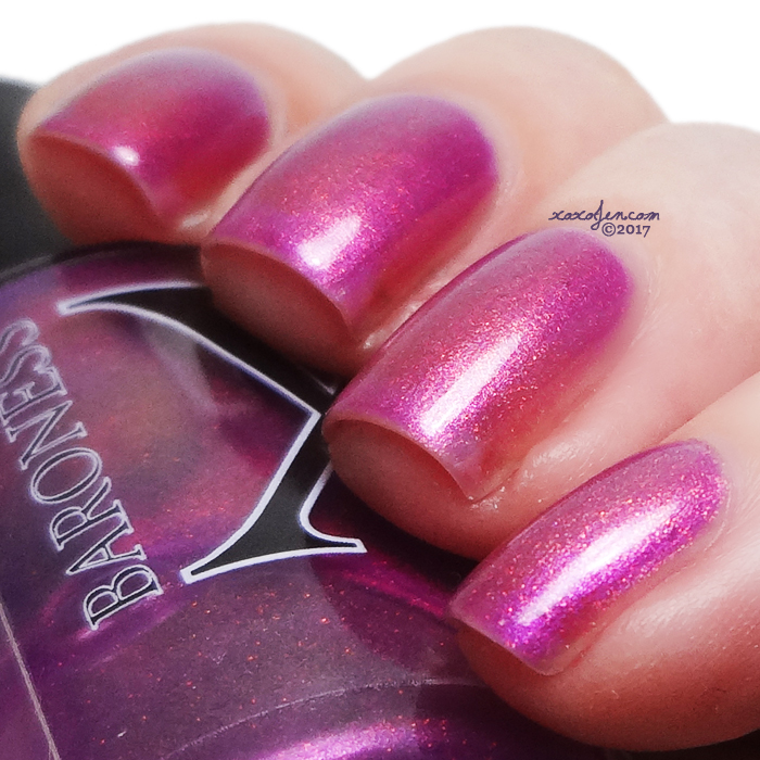 xoxoJen's swatch of Baroness X Singularity