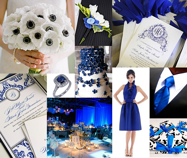 Mia's Bridal & Tailoring: Summer 2012 Wedding Color Palettes