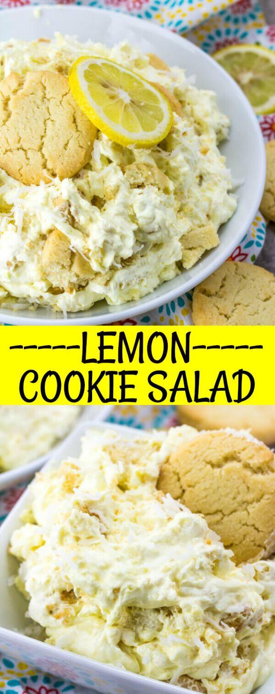 Lemon Cookie Salad