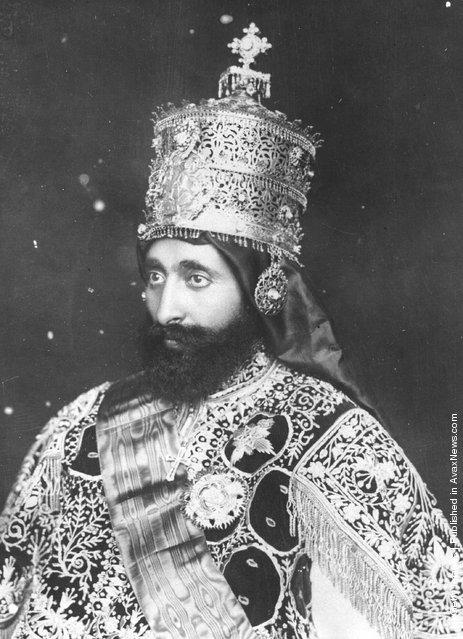 Old Portraits of Emperor Haile Selassie I of Ethiopia ...