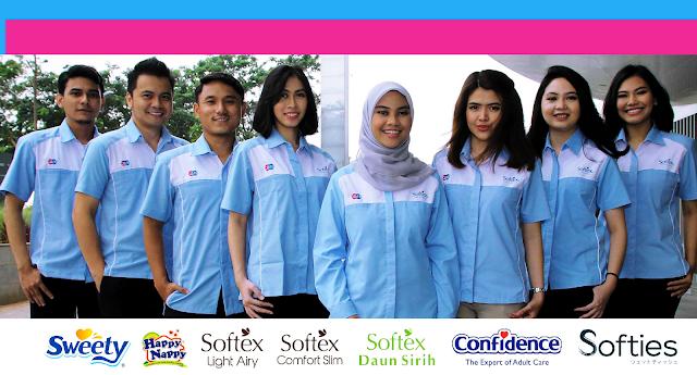Lowongan Kerja Jobs : QC Inspector, Security Guard, Teknisi Produksi PT Softex Indonesia Lulusan Min SMA SMK D3 S1