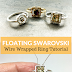 Floating Wire Wrapped Swarovski Montee Ring Tutorial