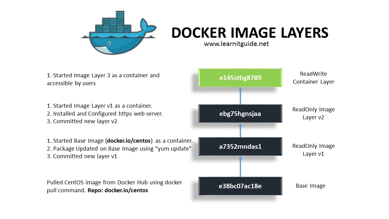 working with docker images - explained with examples