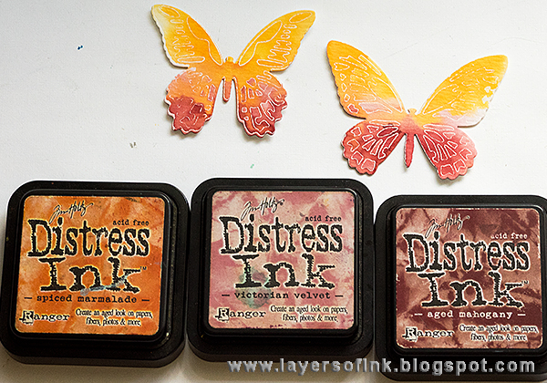 Layers of ink - Butterfly Textures Layout Tutorial by Anna-Karin