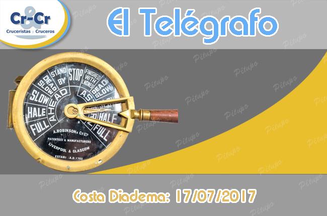 El TELÉGRAFO - COSTA DIADEMA - 17/07/2017