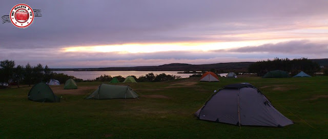 Camping de Reykjahlid (Myvatn), Islandia