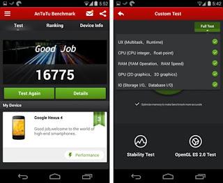Mengukur Kemampuan Smartphone Dengan AnTuTu Benchmark