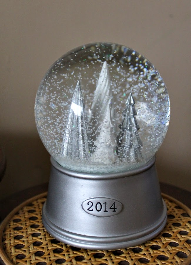 christmas tree snow globe from target 2014