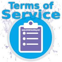 Bagaimana caranya membuat terms of service (TOS) untuk blogspot yang mudah dan juga simpel.