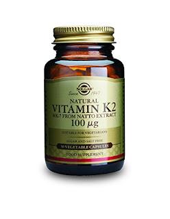 Solgar Natural Vitamin K2 (MK-7) Vegetable Capsules