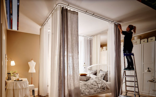the beds that hang from ceiling a lovely lark ideas for violets room creating a bed nook