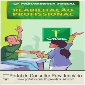 Reabilitação Profissional na Previdência Social.