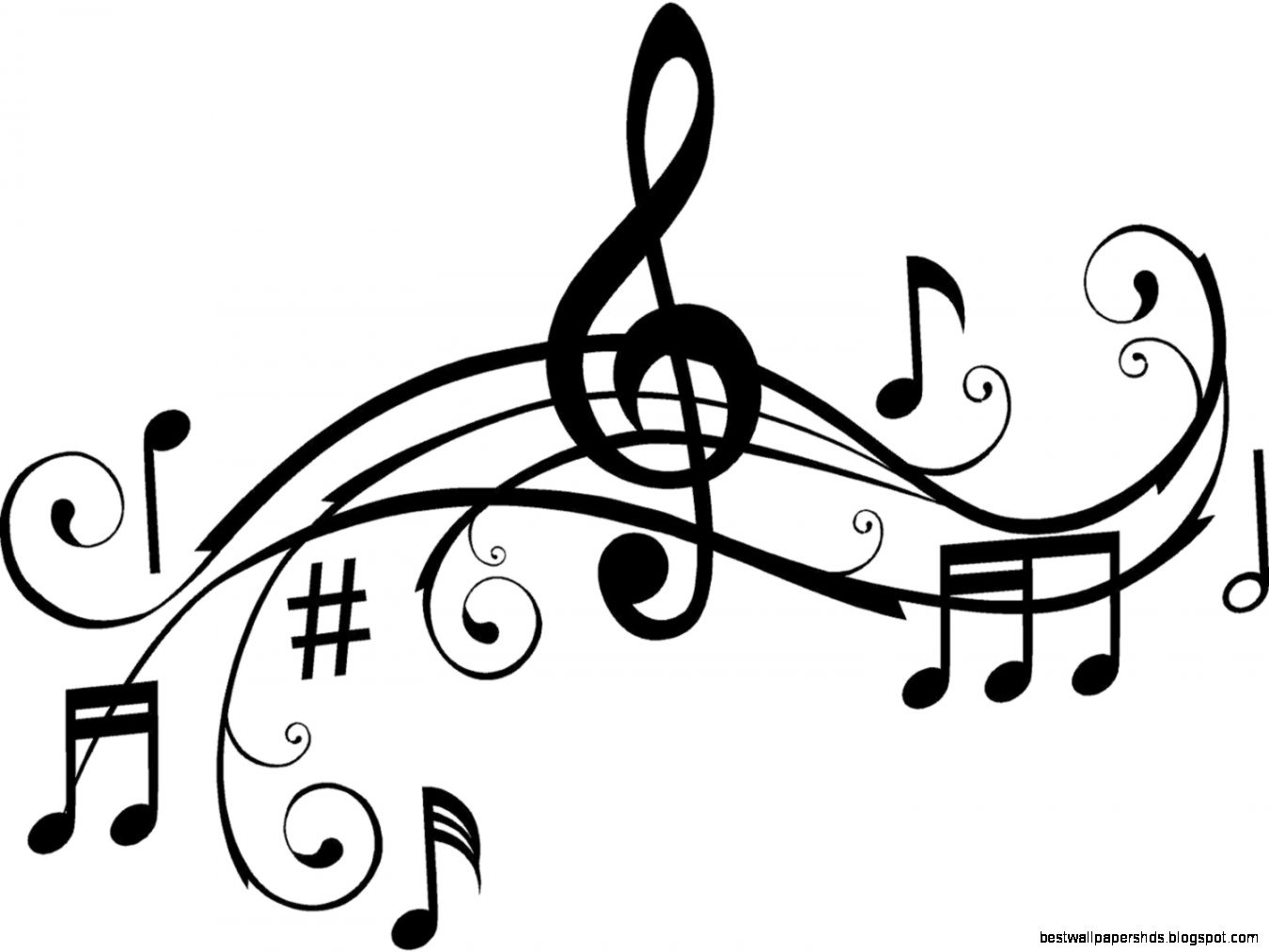 music notes clipart panda clip note musical google staff side education children play singing tattoo favorite