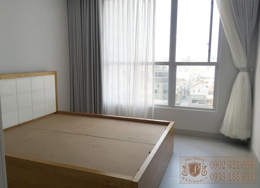 The Prince Residence cho thuê căn hộ 49m2 - giường ngủ