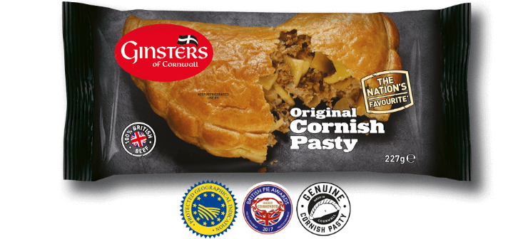 Celebrate Pasty Week with Ginsters Original Cornish Pasty