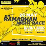 Burners Ramadhan Night Race • 2018