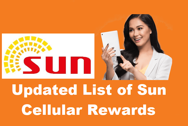 Updated List of Sun Cellular Rewards