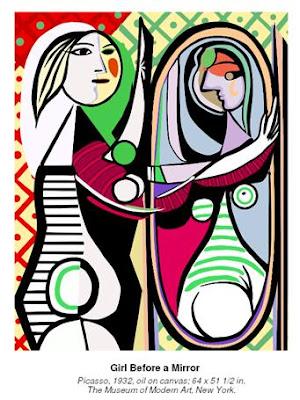 Resultado de imagen para mujer espejo arte
