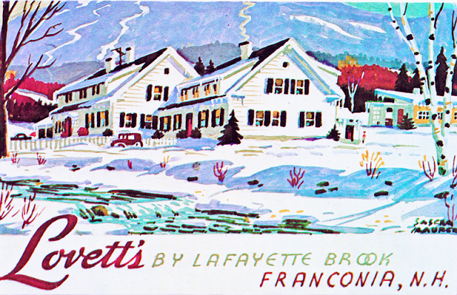 Vintage Postcard of Lovett's Inn - The Cedar Chest blog