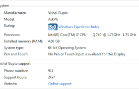 [BatchScript] Thêm hoặc thay đổi OEM Information trên Windows 7-8-10