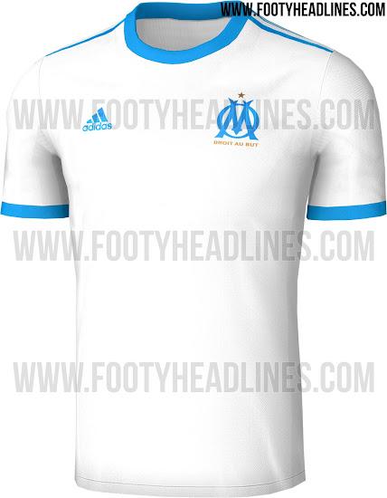 Maillot Domicile Olympique de Marseille 2017