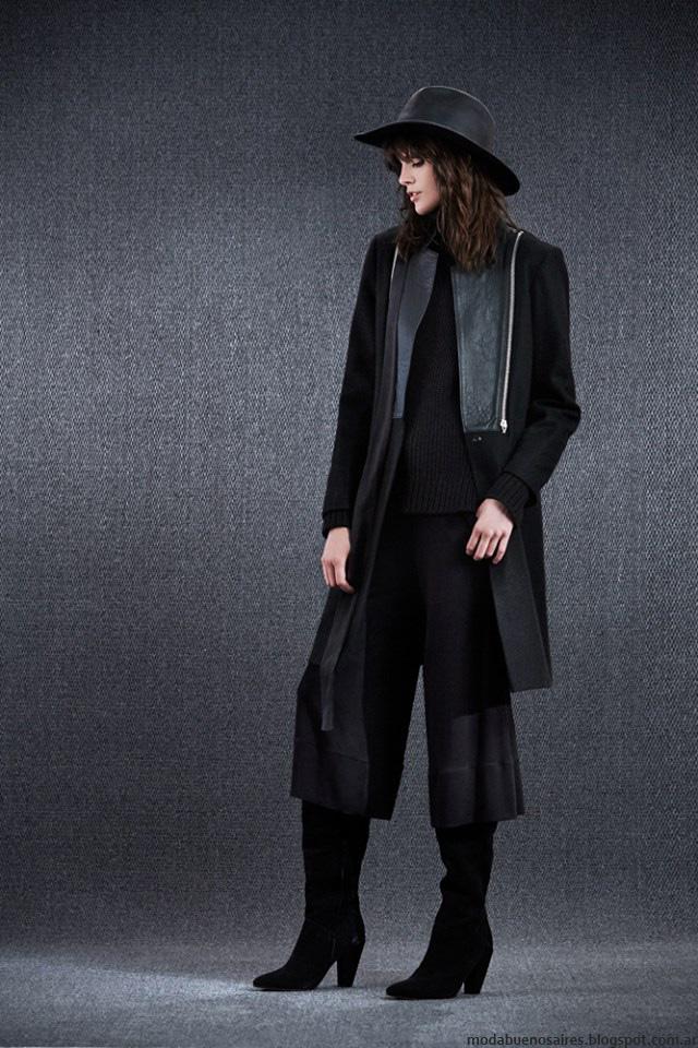 Tapados invierno 2016 ropa de moda Paula Cahen D'Anvers. Moda 2016.