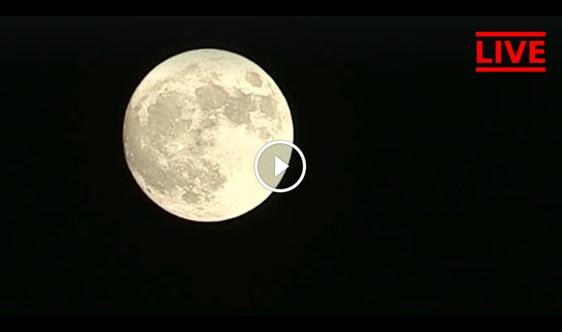 LIVE ! Video Supermoon, Banyak Tempat Yg Hujan Tak Boleh Tengok Kan ? Jom Sama-Sama Tonton Di Sini !