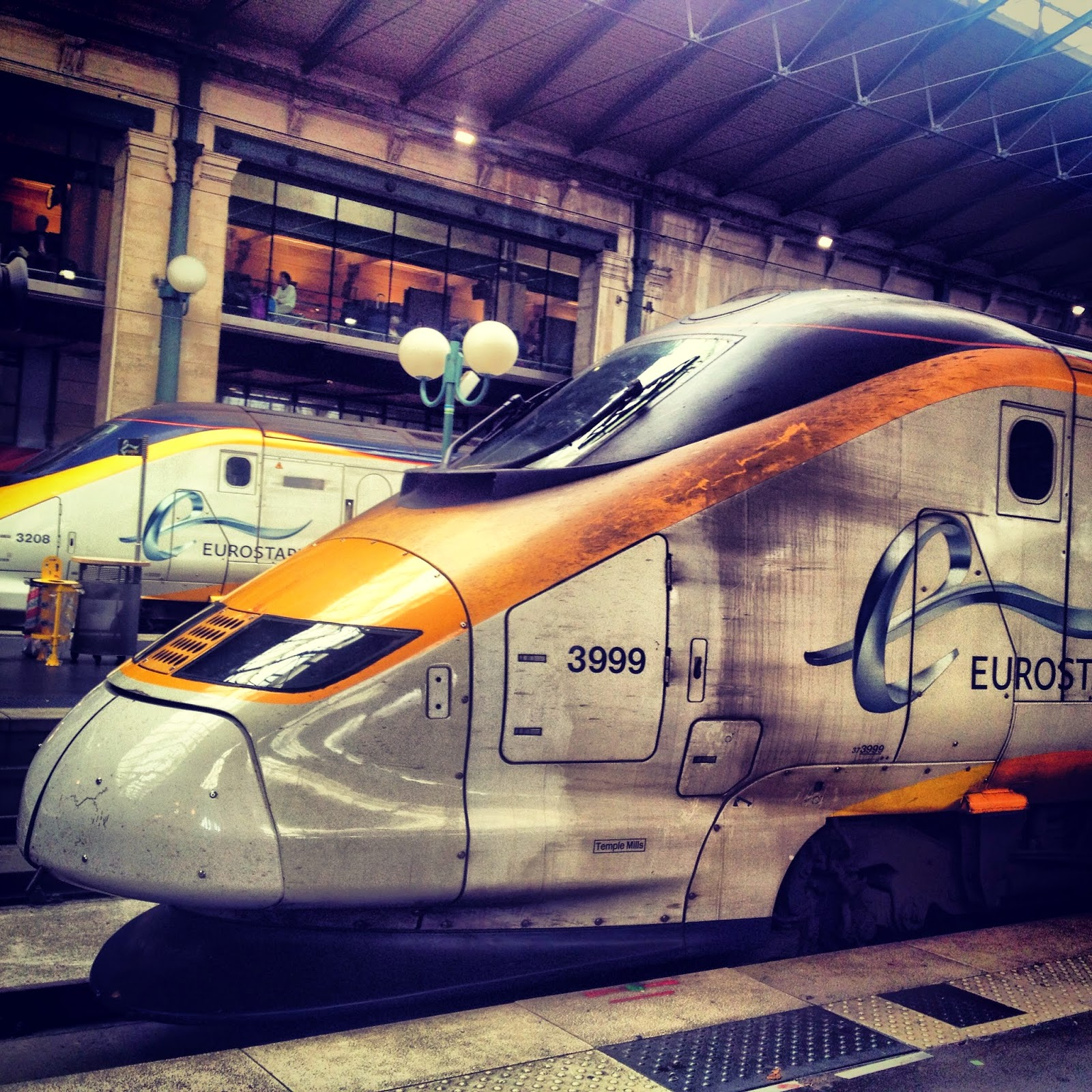 A dash to Kings Cross for the speedy Eurostar to Gare Du Nord Station