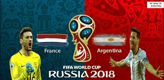 مشاهدة مباراة الأرجنتين و فرنسا في كأس العالم 2018 بتاريخ 30-06-2018 موقع ماتش لايف